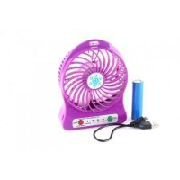 Mini Fan Baterai Bulat - Portable Lithium Fan SJ0023