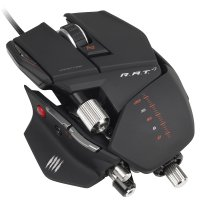 Mad Catz R.A.T.7 Gaming Mouse for PC and Mac - Matte Black