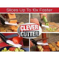 Clever Cutter seen on tv/pisau gunting pemotong serbaguna dapur SJ0092