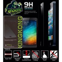 (Platinum) Tempered Glass Kingkong iPhone 5 / 5S / SE