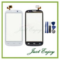[globalbuy] Brand New Black White Touch Screen Digitizer Glass For Alcatel One Touch POP C/2924073