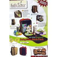 Tas Bayi Baby Scots - Scots Embroidery Diaper Bag