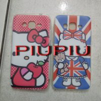 Case Softjacket / Jelly Hello KItty Samsung Prime/G530, Grand2/G7106, Core2/G355H, Ace3, Iphone 4