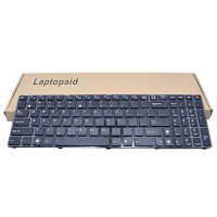 [worldbuyer] Laptopaid New Keyboard With Frame NO BACKLIT For ASUS P50IJ K50 K50AB K50AD K/1169754