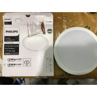 LAMPU DOWNLIGHT PANEL LED PHILIPS 18W 18 W 18WATT 18 WATT 7' DN027B