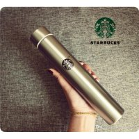 Termos botol minum Starbucks slim stainless steel 300ml korean style