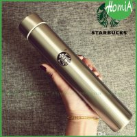 ermos botol minum Starbucks slim stainless steel 300ml korean style