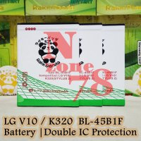 Baterai LG V10 K320 H900 H901 H960 H968 H961N VS990 F600 VS990 BL-45B1F Double IC Protection