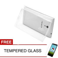 Crystal Case for OPPO Find 5 / 5.0 inch - Clear Hardcase + Gratis Tempered Glass