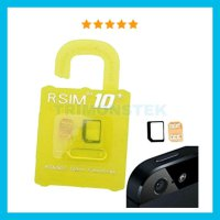 RSIM R-SIM 10+ Plus Yellow Support Iphone 4s 5 5s 5c 6 6+ 6s 6s + ios 7 8 9