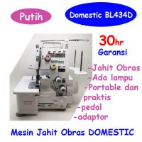 BL-434D Mesin Jahit Obras portable Domestic 4 benang