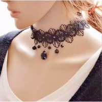 Kalung Cantik & Manis Choker A46 Handmade Gothic Vintage Lace NEcklace