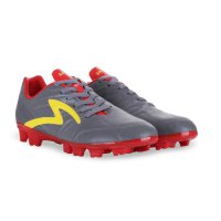 Sepatu Bola Specs Bold Fg - Dk Cool Grey Emperor Red Fresh Yellow