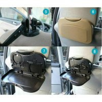 Terlaris! Car Organizer Table Rak Meja Lipat Mobil Portable (S018COM)
