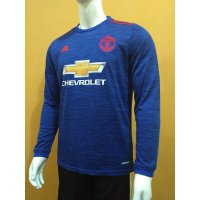 JERSEY MANCHESTER UNITED MU AWAY LONG SLEEVE LS 2016/2017 GRADE ORI