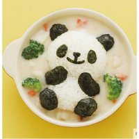 Cetakan Panda Mold Rice Bread Cookies Kue Nasi Cake Dapur Kitchen Art