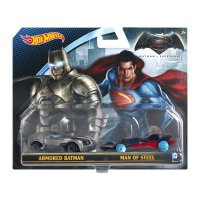 Hot Wheels DC Universe Vehicles Batman v Superman (2 Pack)