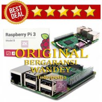 Hot Deal's Raspberry Pi 3 Model TERBARU Support WIFI BLUETOOTH RAM 1GB BERGARANSI
