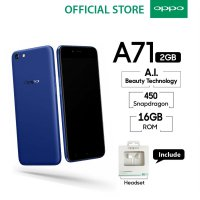 OPPO A71 New 2018 2GB/16GB Snapdragon - Blue