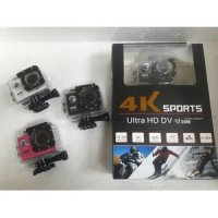 Sport Action Camera 4K Ultra HD 12Mp 2' LCD Display