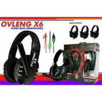 Headseat / Headphone Gaming OVLENG X6 Super Bass