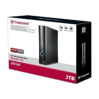 Transcend StoreJet 35T3 USB 3.0 3TB 3.5' (With Adapter)