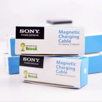magnetic charging cable sony ori for xperia z ultra, z1,z1 compact / mini, z2