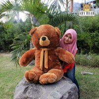 Hot Deal's Boneka Teddy Bear / Beruang Jumbo Besar Warna Coklat
