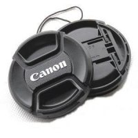 Lens Cap For Canon Lens 52mm, 58mm, 62mm, 67mm, 72mm, 77mm