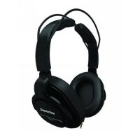 Superlux HD661 Closed-Back Professional Headphone with Detachable Straight Cables Black