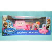 MINI CASH REGISTER FROZEN S8006 - MAINAN ANAK PEREMPUAN MESIN KASIRAN