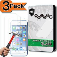 [macyskorea] [3-Pack] iPod Touch 6&5 Screen Protector, PThink [Tempered Glass] [9H Hardnes/18658135