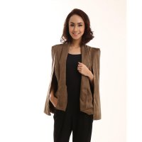 Browny Cape Blazer - All Size