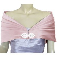 [macyskorea] Alivila.Y Fashion Women Formal Party Shawl 01-Pink Satin Plus Size/10757221