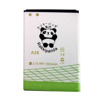 BATTERY BATERAI DOUBLE POWER DOUBLE IC RAKKIPANDA EVERCOSS CROSS A28 / A28A 3500mAh