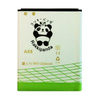 BATTERY BATERAI DOUBLE POWER DOUBLE IC RAKKIPANDA EVERCOSS CROSS A88 3500mAh