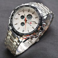 Swiss Army Indygo Jam Tangan Pria- Silver (Best Seller)