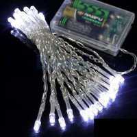 [globalbuy] 3M 30LED strip light String Lights 3*AA battery Mini Fairy 30 LED Lights Festi/3840632