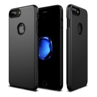 [High Quality] Patchworks Iphone 7 Plus Case Pureskin Matte Black