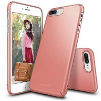 [Best Seller] Ringke Iphone 7 Plus Case Slim - Rose Gold
