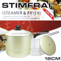 MASPION STIMFRAI FRYER & STEAMER