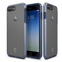R.E.A.D.Y Patchworks iPhone 7 Plus Case Level - Navy/Clear