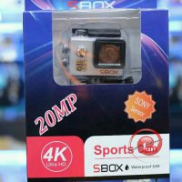 Terlaris 20MP 4K Camera Sport Action SBOX Sony Lens Wifi Seperti Kogan Brica Gopro Xiaomi