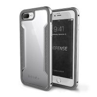(Limited) X-DORIA Defense Shield for case iPhone 7 Plus - Silver