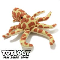 Ozco Boneka Hewan Gurita - Spotted Octopus Stuffed Plush Animal Doll - 8 inch