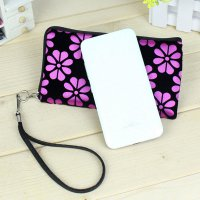 Women Printing Coins Change Purse Clutch Zipper Zero Wallet Phone Key Bags