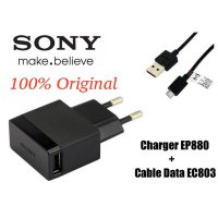 Original Charger Sony EP880 Fast Charging Support All HP/Tablet/PAD