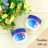 Vaseline 100% Pure Petrolium Jelly 100ml Original Oleh Oleh Haji Umroh