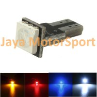 Lampu LED Mobil / Motor / Speedometer / Dashboard T5 PCB 1 SMD Yellow