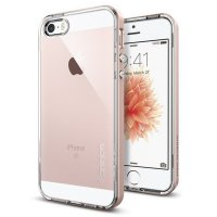 DISKON Spigen iPhone SE/5S/5 Case Neo Hybrid Crystal Rose Gold 041CS20183